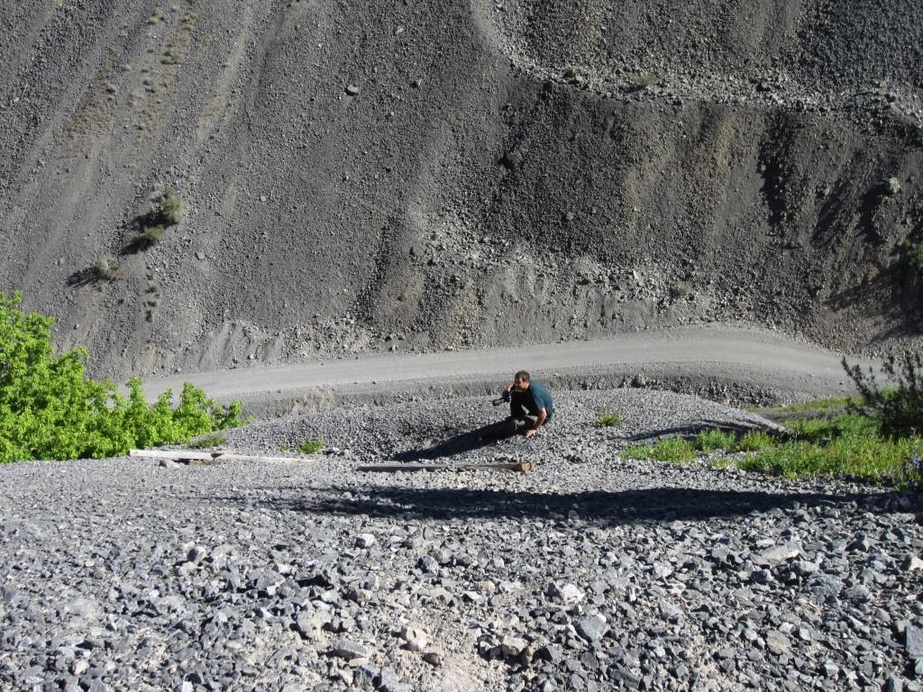 Kirk, settled on the edge of the limestone mountain.
