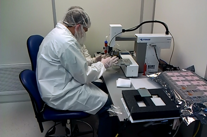 Working in the cleanroom
