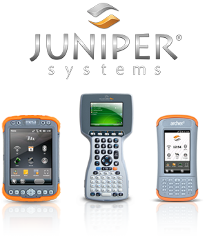 Juniper Systems Homepage