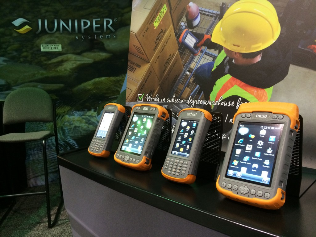Handhelds at MODEX 2014