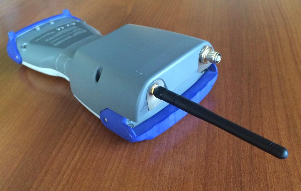 Custom rugged handheld for land survey