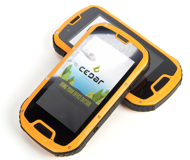 Cedar Tree Handhelds Now Available through Juniper Systems
