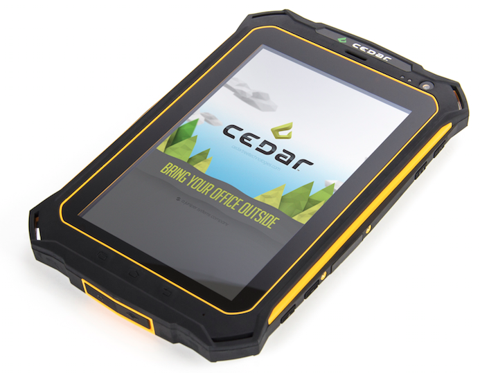 Try Cedar Android Handhelds with TerraGo Edge