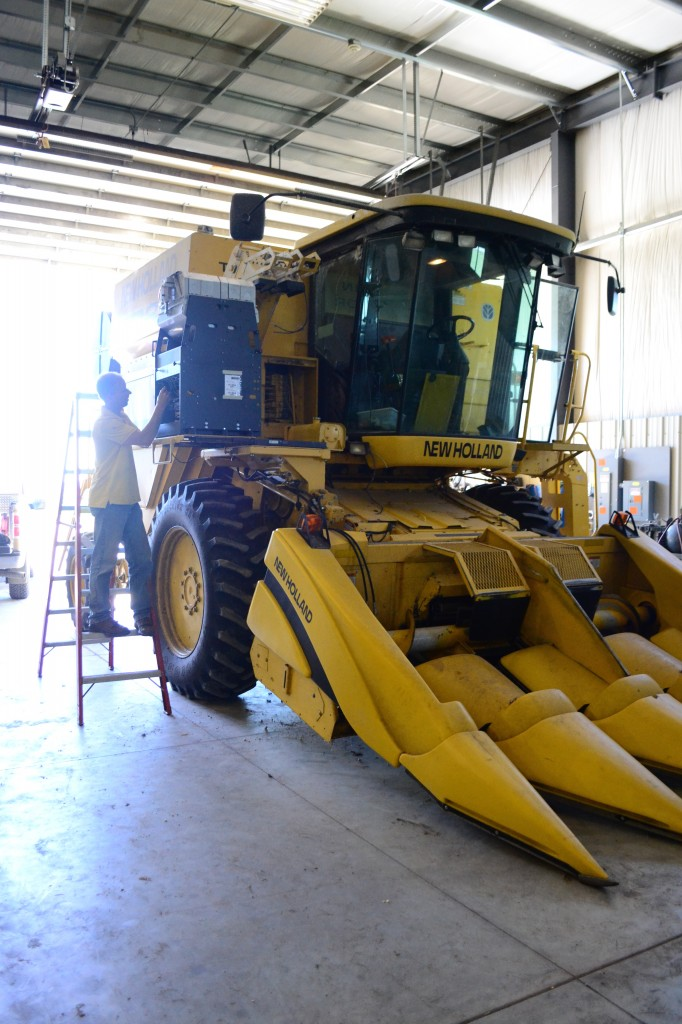 Installing the H2 on a combine