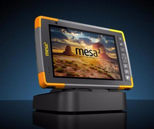 Mesa 2 Rugged Tablet in M2 Dock