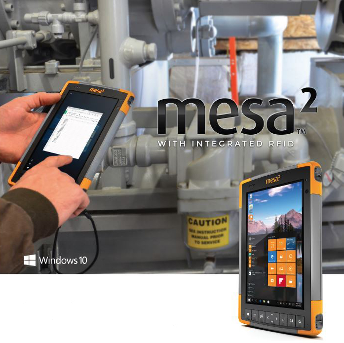 Quickly Capture RFID Data with the Mesa 2 Rugged Tablet