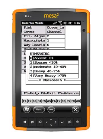Mesa 2 with Elecdata's Data Plus Mobile