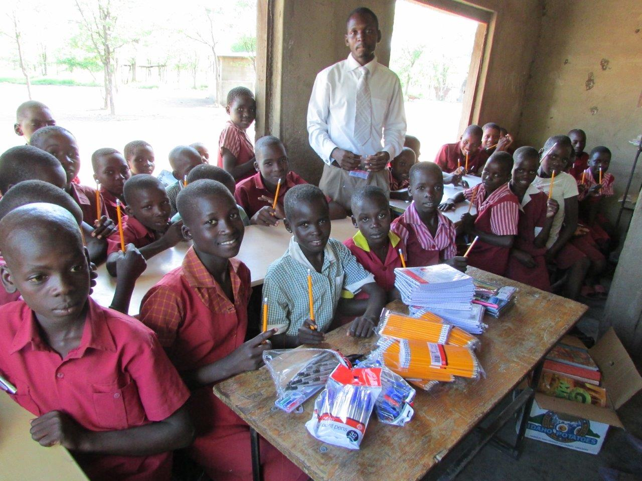Employees send love through school supplies to the Lirhanzo Children's Village Primary School in Chikombedzi, Zimbabwe