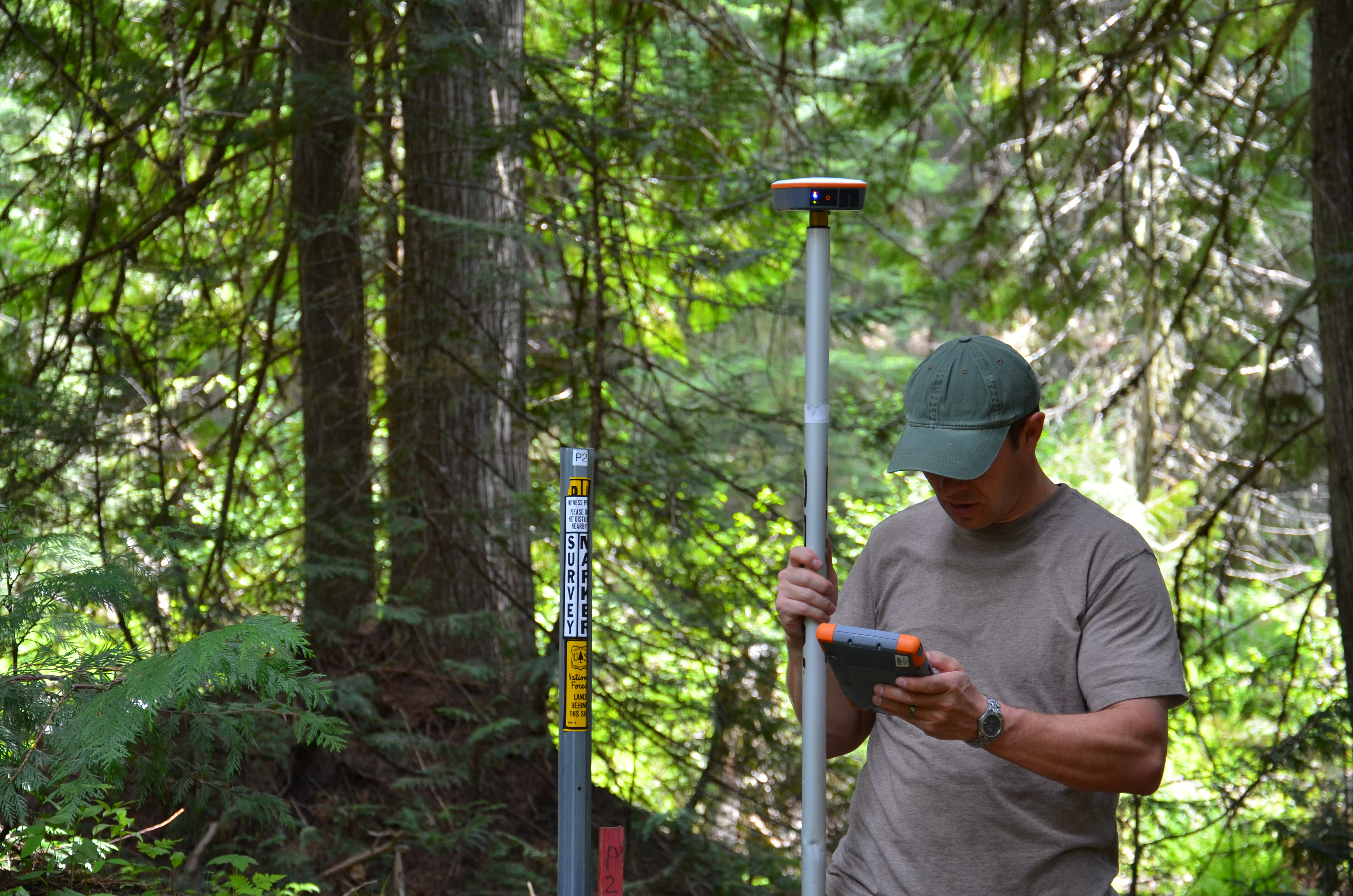 The Geode Sub-meter GPS Receiver Put to the Test Under Dense Forest Tree Canopy