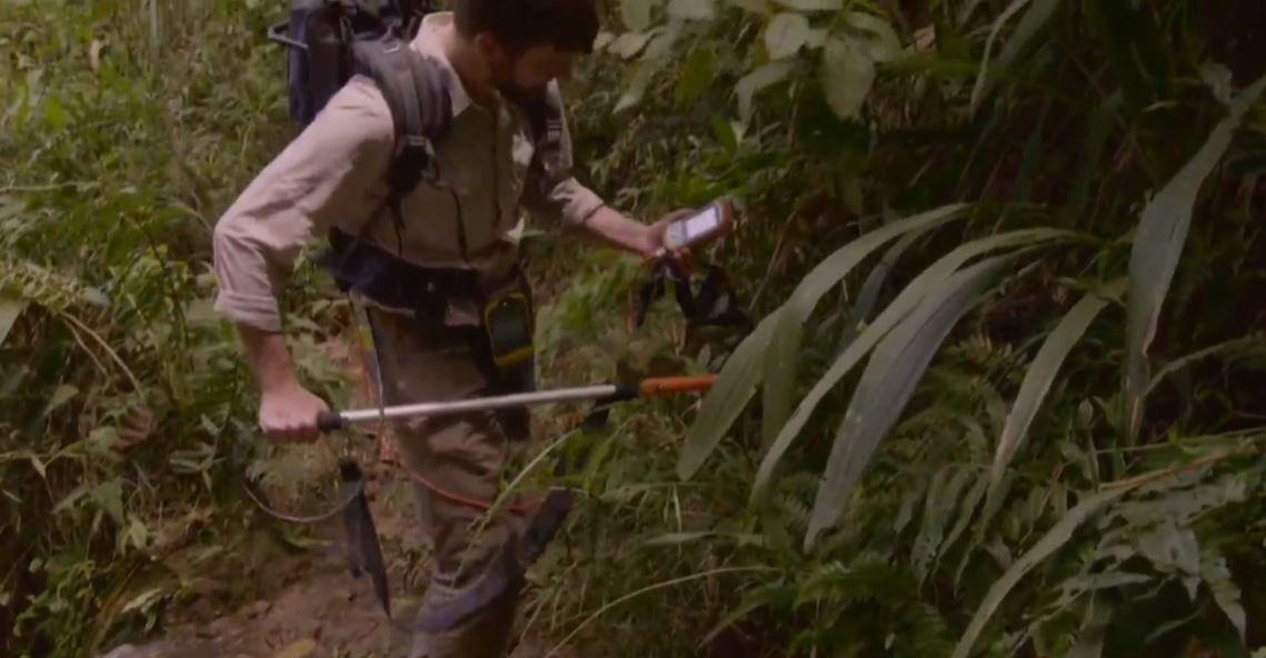 Using the Archer Rugged Handheld to find Pablo Escobar's millions