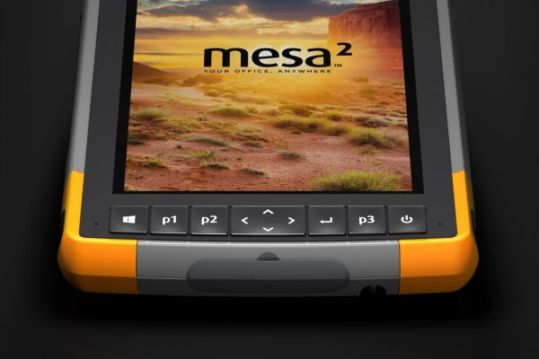 Configurable buttons? Yep, the Mesa 2 Rugged Tablet has those