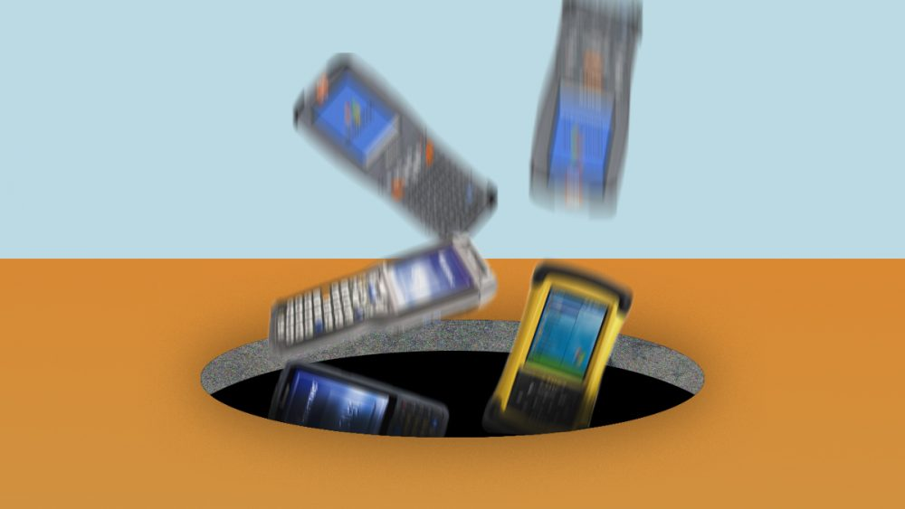 Disappearing rugged handheld manufacturers