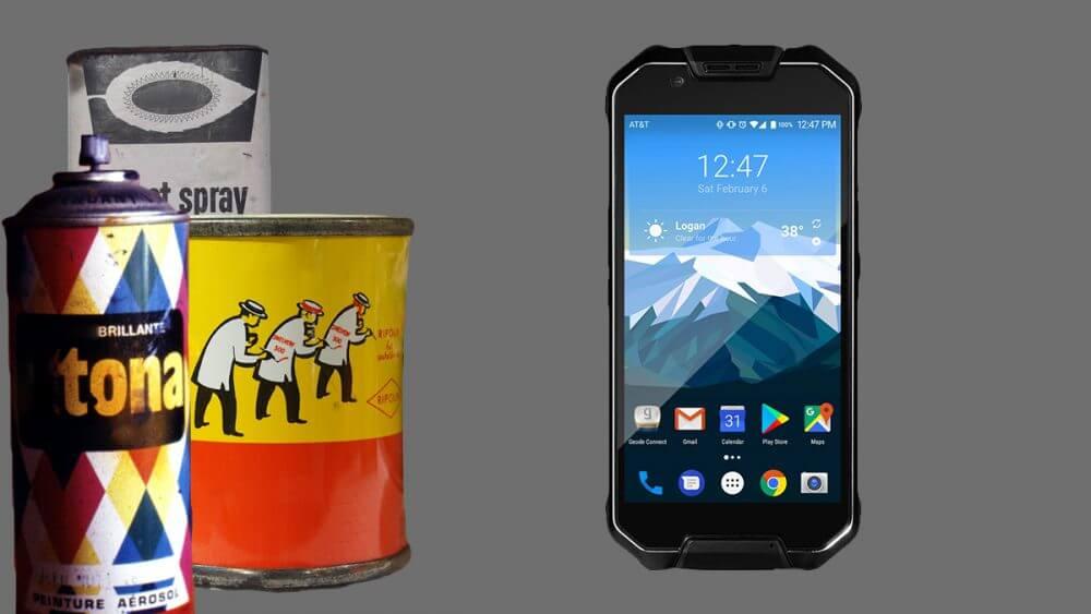 The Cedar CP3 Rugged Smartphone has a volatile organic compound sensor