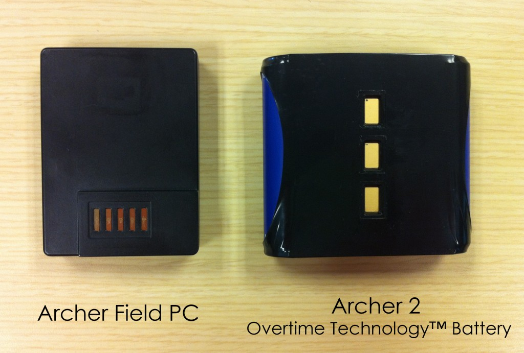 Even next to the original Archer Field PC, the Archer 2 is larger and contains more power.
