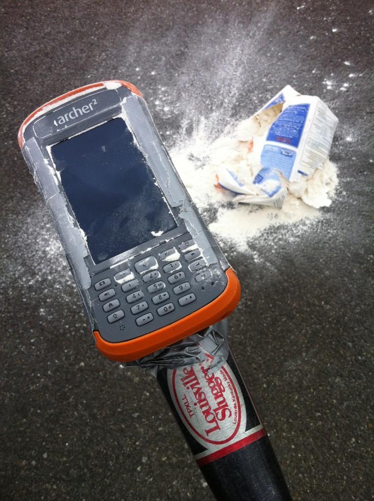 Busted flour