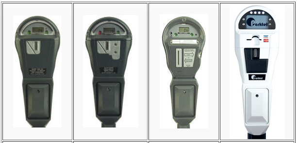POM parking meters