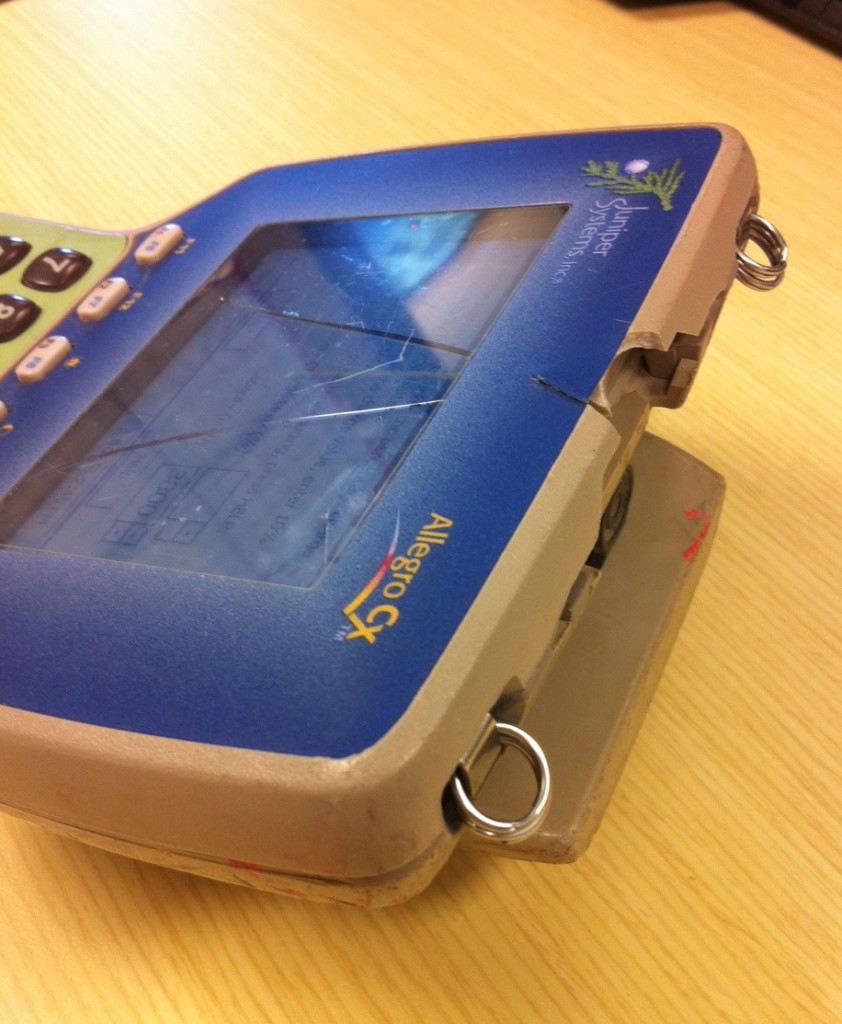 Machete-chopped Allegro Field PC