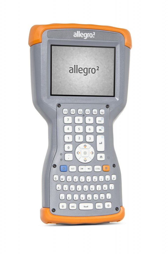 Allegro 2 rugged handheld