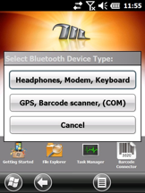 connect a Bluetooth device