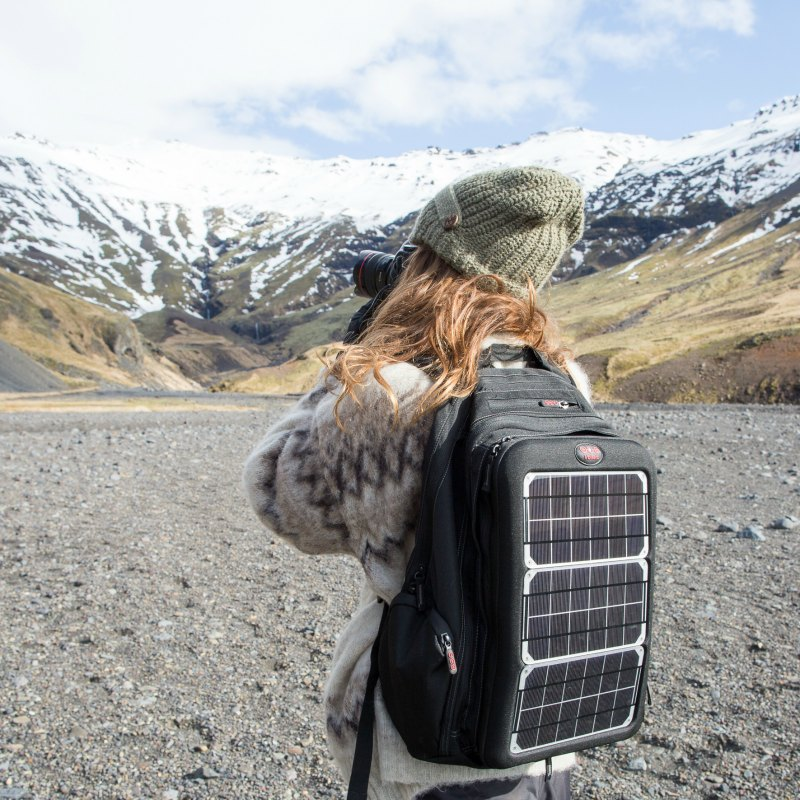 Voltaic Systems' Array Solar Laptop Charger Backpack