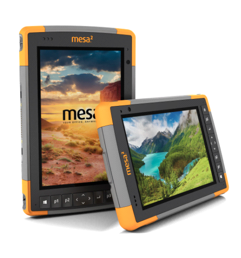 Transferring data on the Mesa 2 Rugged Tablet