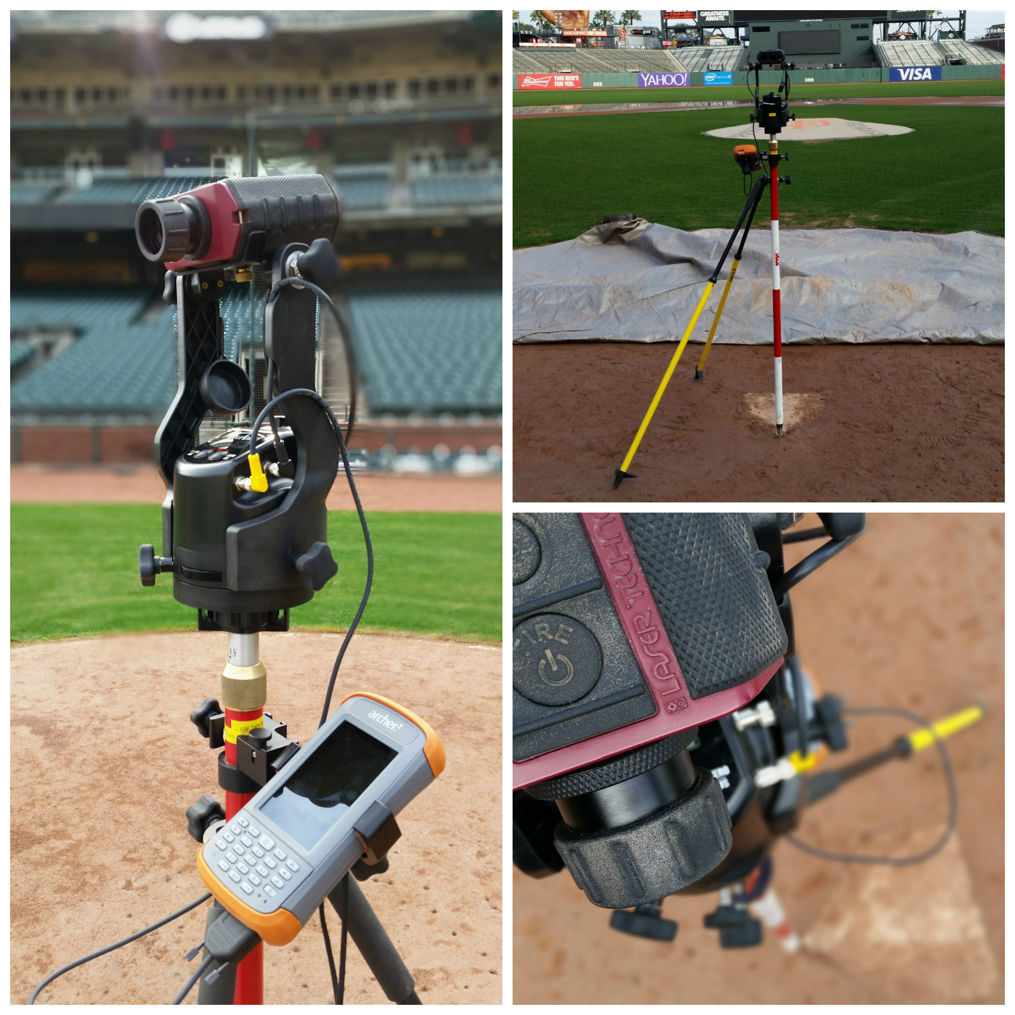 Mapping Major League Baseball Fields with the Archer 2 & Laser Technology
