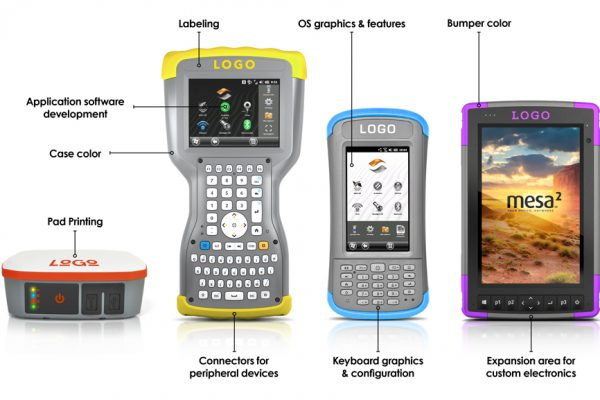 Customization opportunities with Juniper Systems: Rugged tablets, handhelds, and GPS receivers