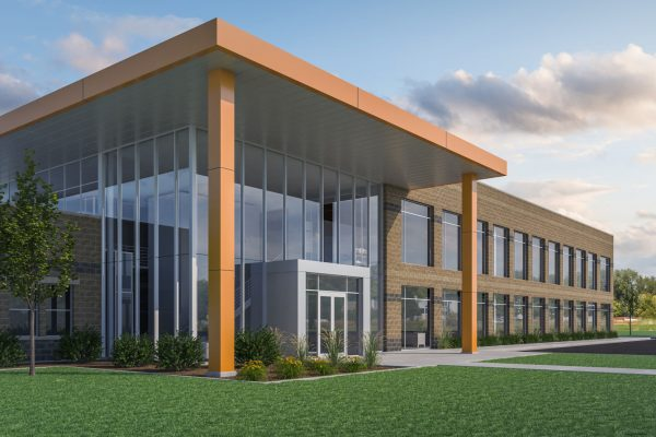 Construction continues for Juniper Systems' 52,000 square-foot building addition