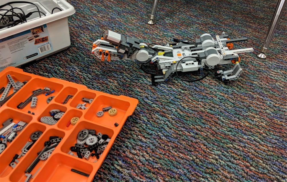 Lego robotics club