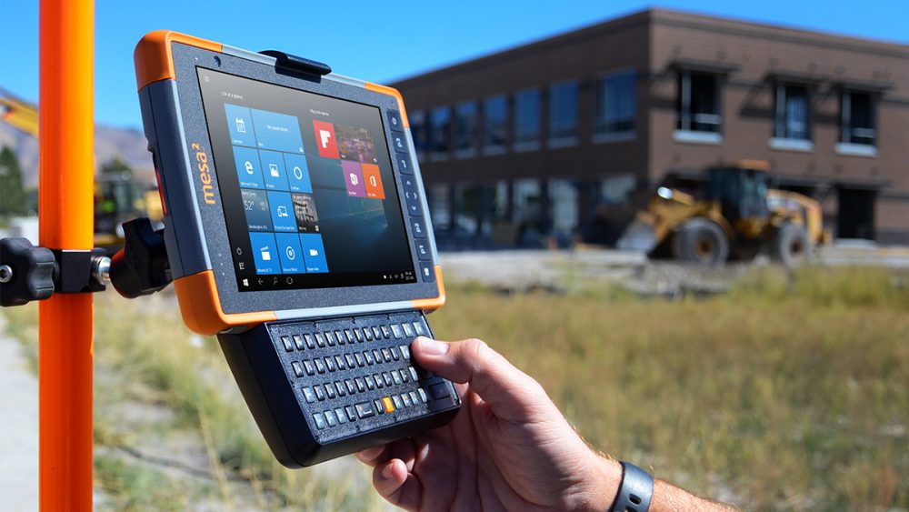 The Mesa Rugged Tablet features a sunlight readable display.