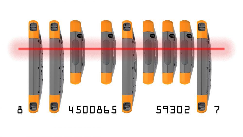 Mesa 2 barcode reader