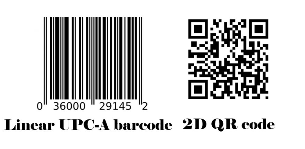 1D and 2D barcodes