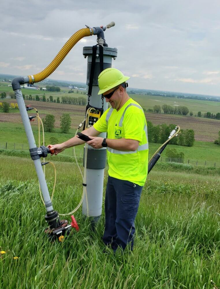 Why landfill experts use the Envision Gas Analyzer and Mesa 2 Rugged Tablet for gas monitoring