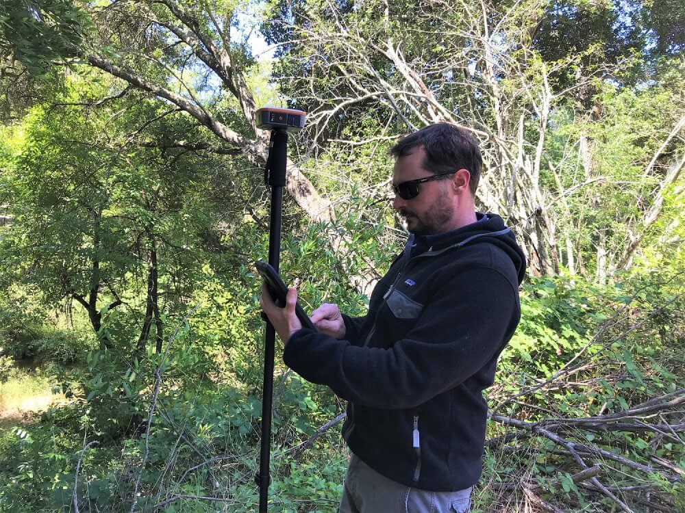 Juniper's Geode Sub-meter GPS Receiver helps Sonoma Ecology Center collect data, map, and serve the community