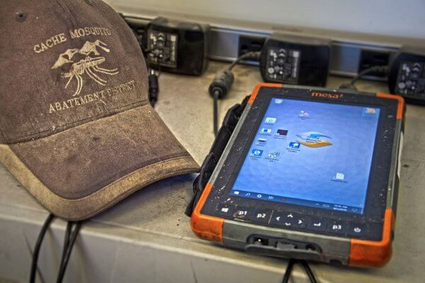 The Cache Mosquito Abatement District takes to the streets with the Mesa 2 Rugged Tablet