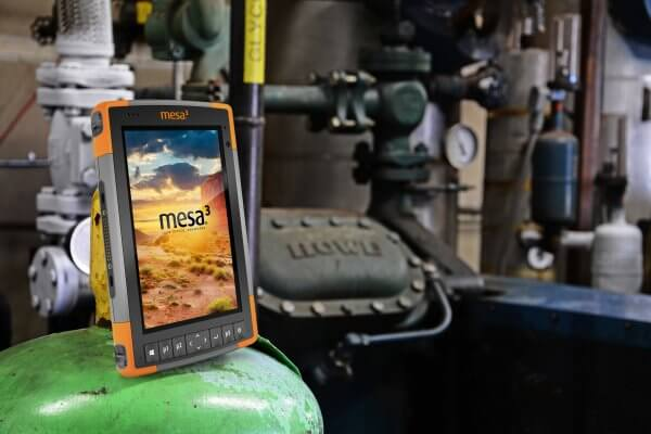 The Mesa 3 is now a hazardous location certified tablet