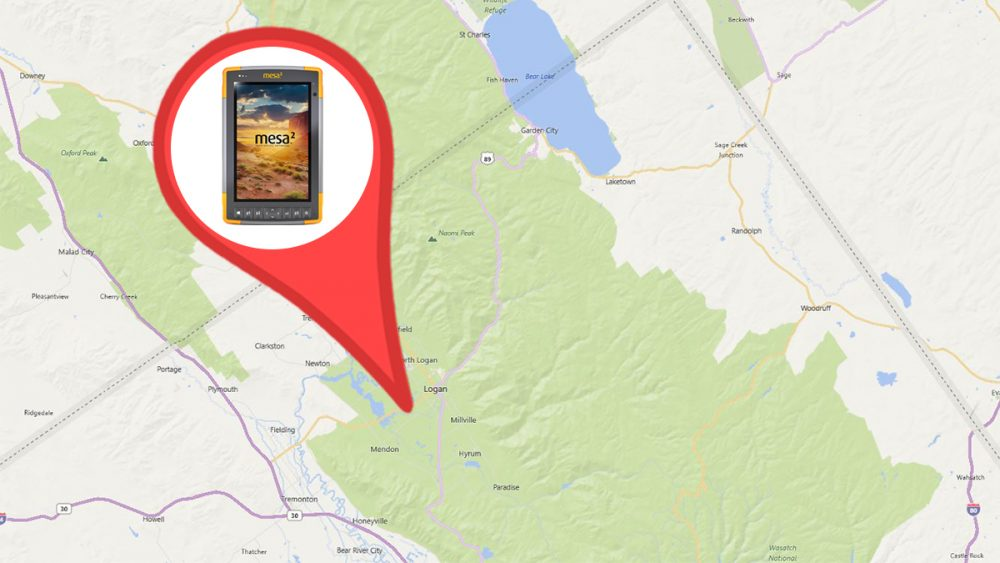 Geotagging a location on your map with Windows 10 software