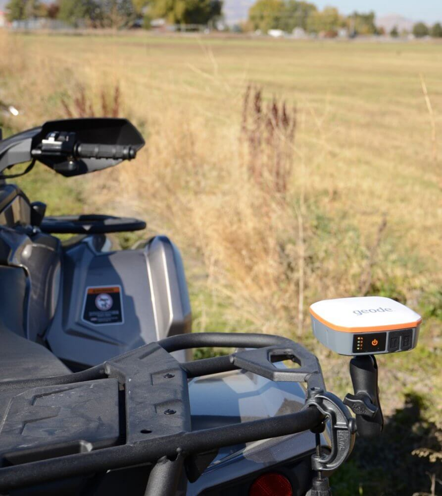 A real-time sub-meter GPS receiver for an ATV