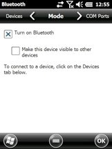 How to enable the Bluetooth on your device.