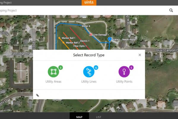 Hassle-free utility mapping