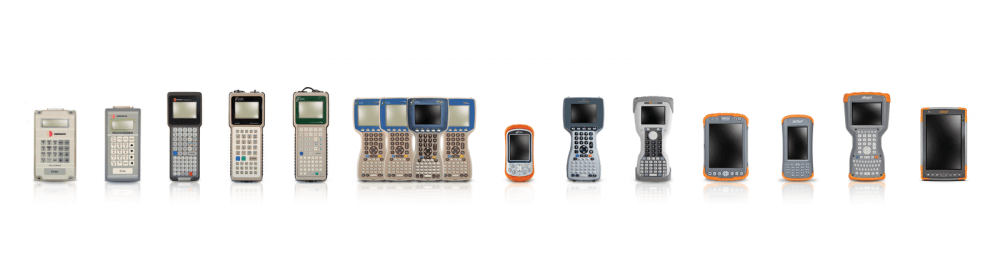 The visual history of rugged data collectors by Juniper Systems