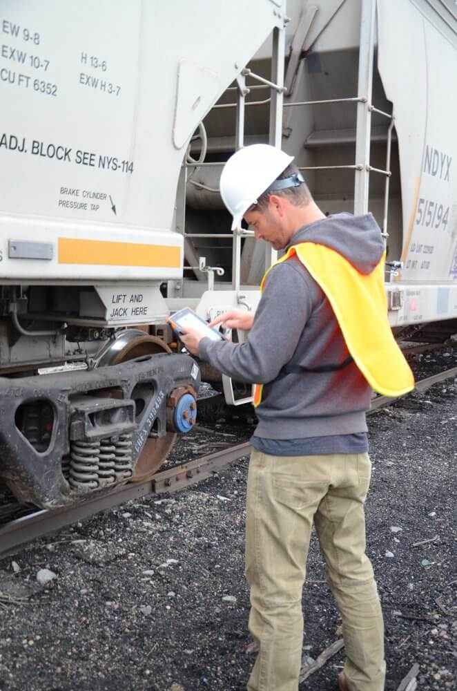 We've teamed up with Industrial Networks to provide a one-of-a-kind railroad ATA/AEI RFID identification and tracking system